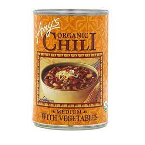 best canned chili for frito pie, Amy's Organic Chili