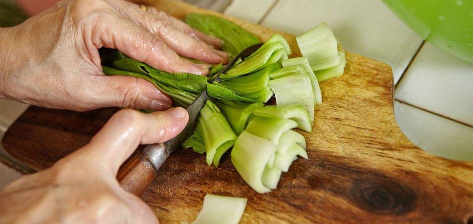 How Do You Cut Bok Choy