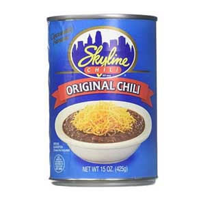 best canned vegetarian chili, Best Canned Chili, Skyline Chili