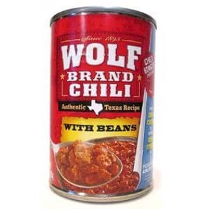 best canned hot dog chili, Wolf Brand Chili Homestyle