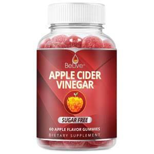 belive apple cider vinegar gummies