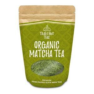 TEAki Hut Organic Matcha Green Tea Powder