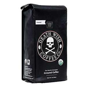 Death Wish World's Strongest Ground Coffee