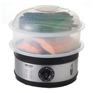 aroma food steamer, the best food steamer on the market