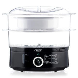 BELLA Quart Healthy Food Steamer