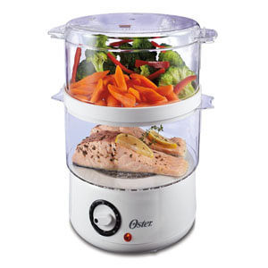 oster food steamer, best rated food steamer, best food steamer