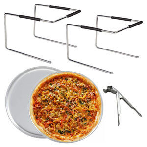 Tiger Chef Pizza Stand and Pizza Pan