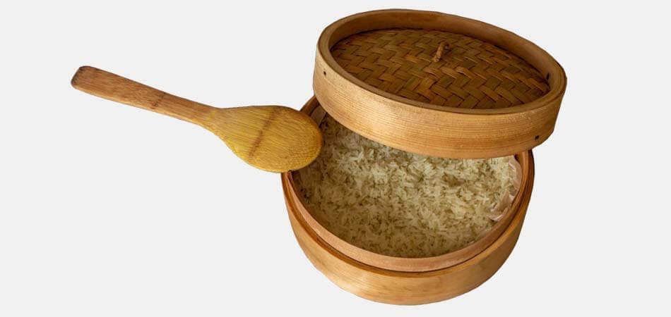 bamboo steamers recipes, how to use a bamboo steamer to cook rice