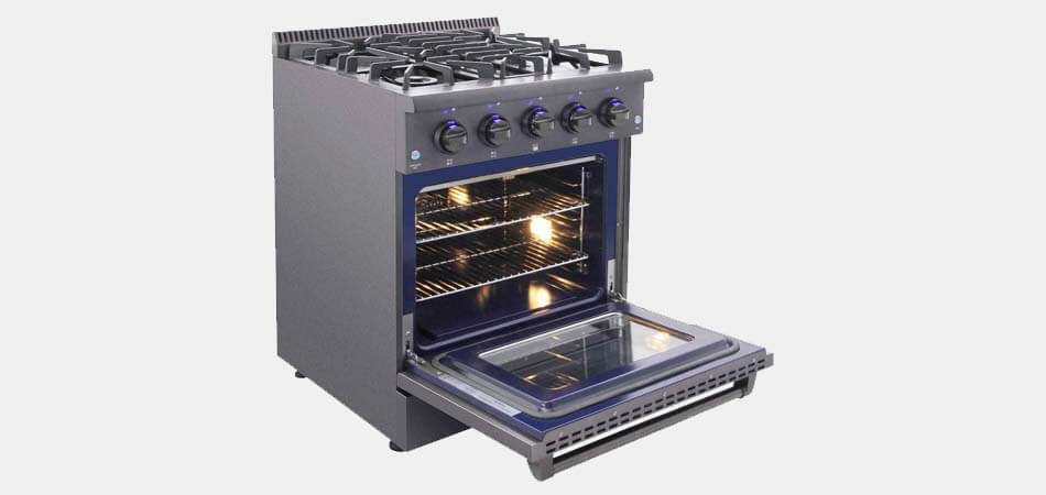 what is dual fuel range, what is a dual fuel oven range