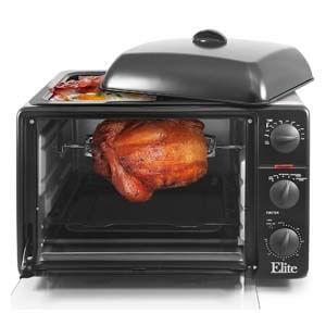 elite rotisserie oven