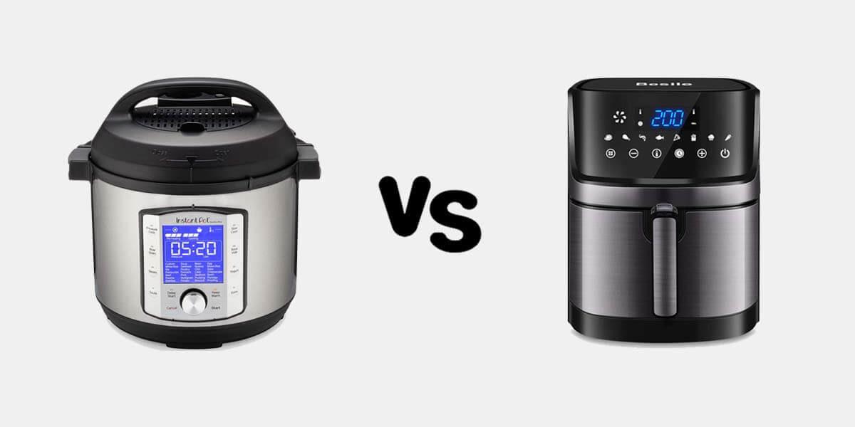 Instant Pot Vs Air Fryer, instant pot vs ninja air fryer