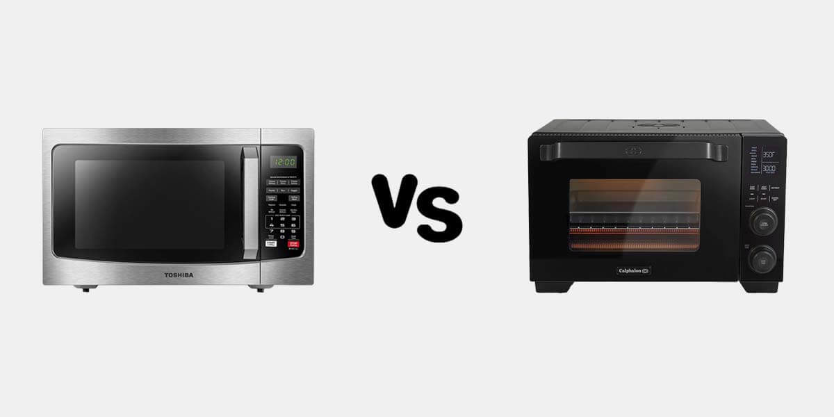 toaster oven vs microwave, microwave or toaster oven