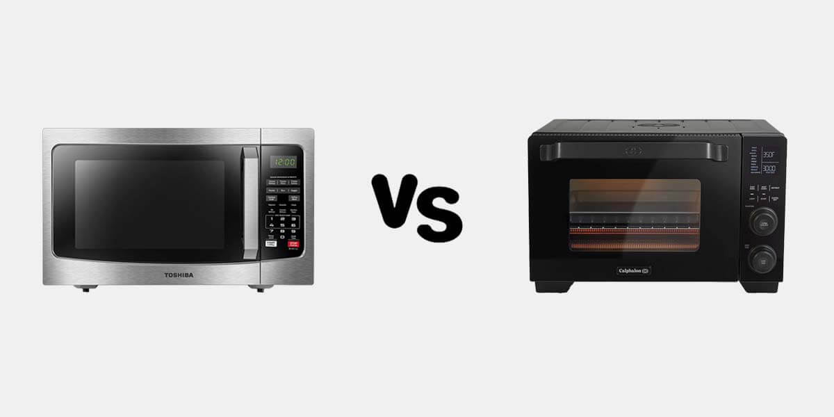 Toaster Oven vs Microwave – Which Is More Efficient?