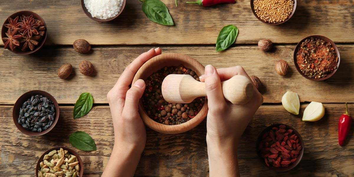 how to use a mortar and pestle, how to safely use a granite mortar and pestle
