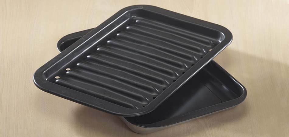 what is a foil lined broiler pan, what is a broiler safe pan