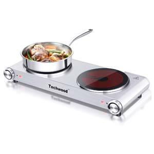 techwood hot plate, best portable electric hot plate